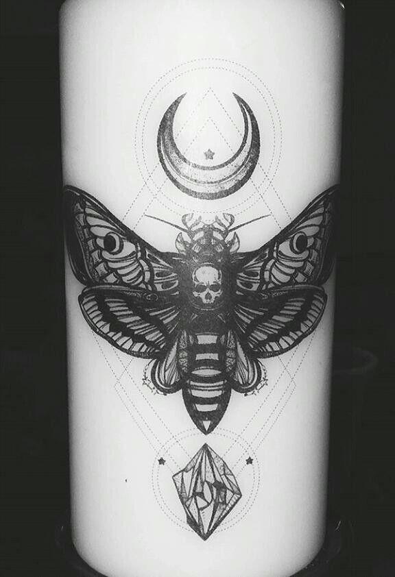 Moth skull moon crystal                                                                                                                                                                                 More