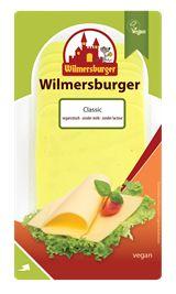Wilmersburger - plantaardig en dus vegan alternatief voor kaas (zonder soja). Oa verkrijgbaar bij aantal Jumbo's en online shops.