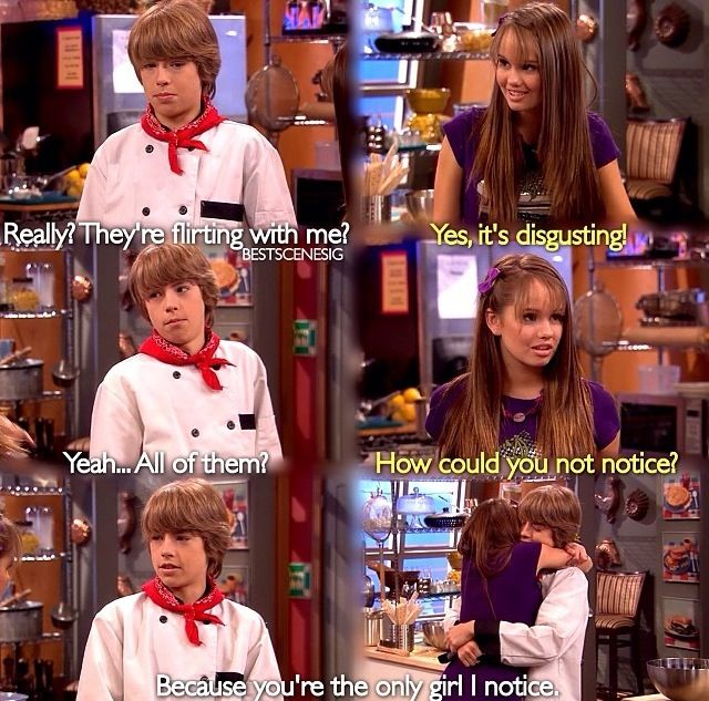Suite life on deck bailey and cody start dating