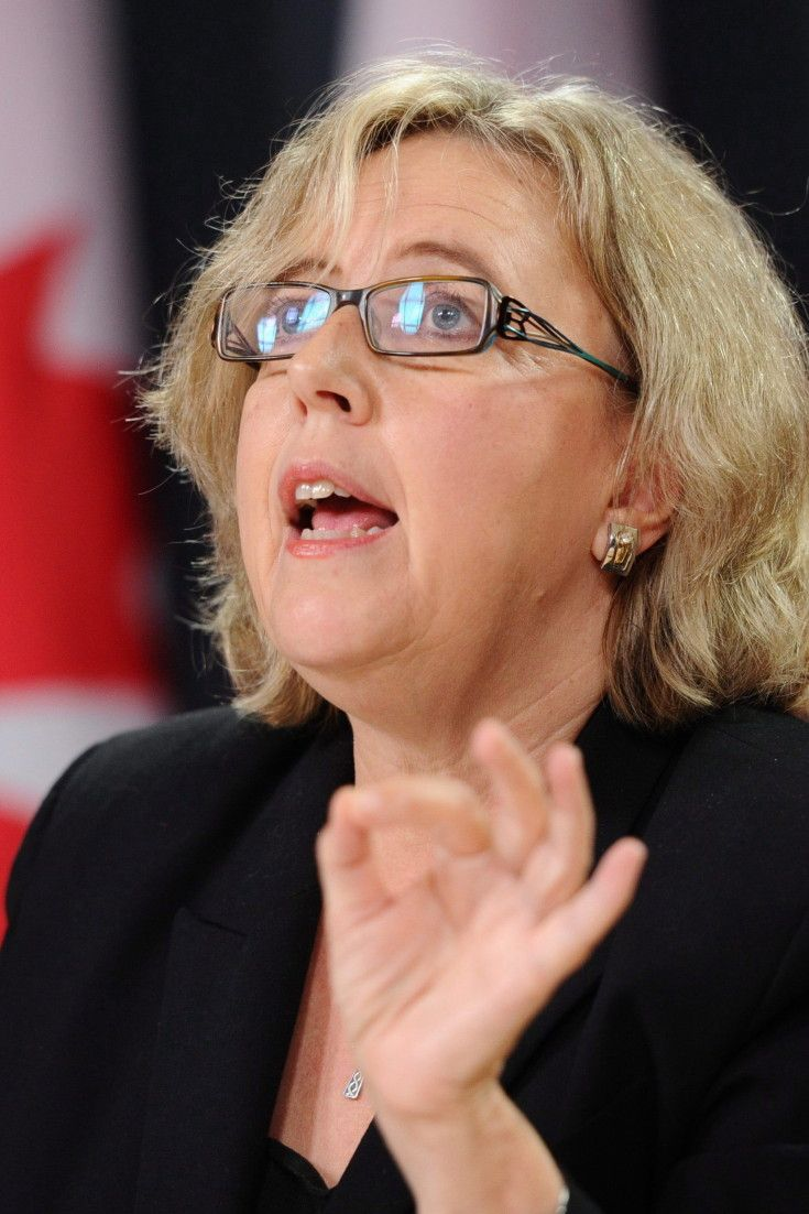 Elizabeth May's Press Gallery Dinner Speech Was The 'Weird Moment Of The Night'