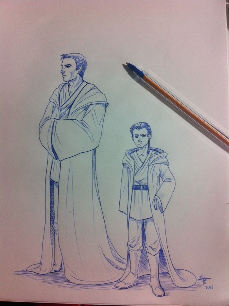 Master and his young Padawan-Bruce Wayne and Damian Wayne.