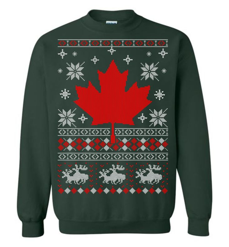 Canada Ugly Christmas Sweater