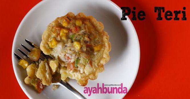 Pie Teri :: Klik link di atas untuk mengetahui resep pie teri
