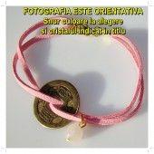 [K] Bratara-amuleta cu BANUT CHINEZESC si RODOCROZIT