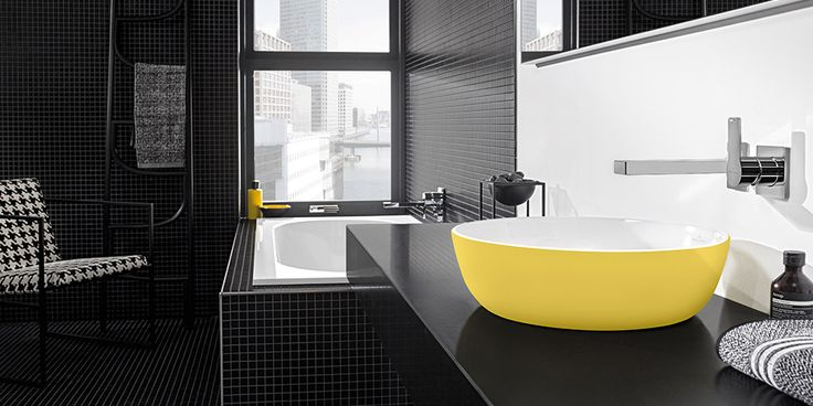 Bathroom colour schemes with Villeroy & Boch