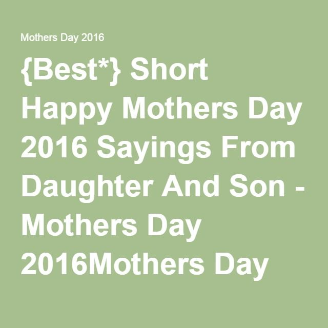 Mother To Son Quotes And Sayings: 17 Best Images About Mothers Day Special On Pinterest