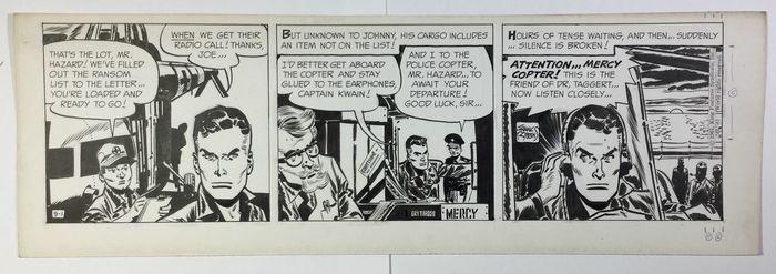 Catawiki, pagina di aste on line  Robbins, Frank - Pagina originale - Johnny Hazard - (1961)