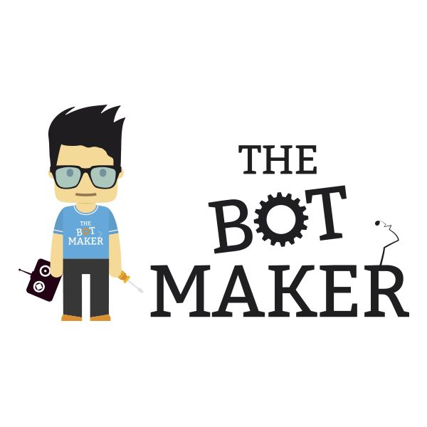 Logo for a bot makers school