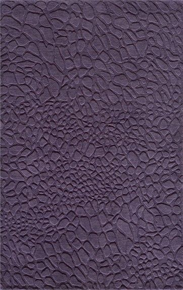 Gramercy Purple Textured Rug