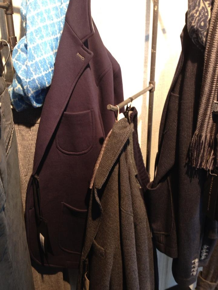 Destructured jackets in Jersey by Massimo Rebecchi