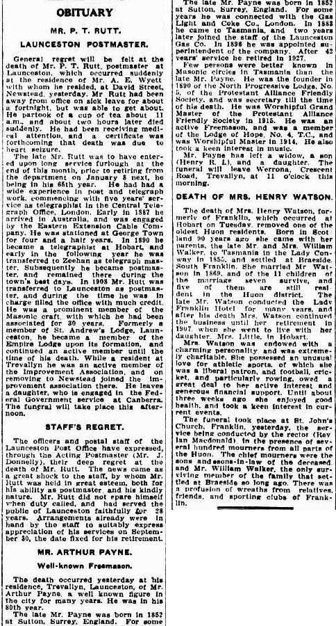 Mercury (Hobart, Tas. : 1860 - 1954), Friday 18 September 1931, page 5