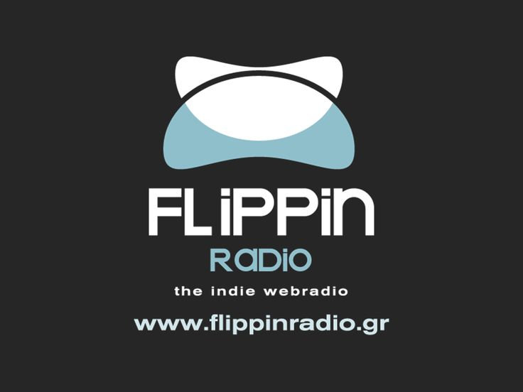 Flippinradio light blue logo