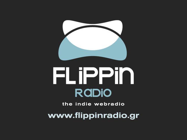 Flippinradio light blue logo