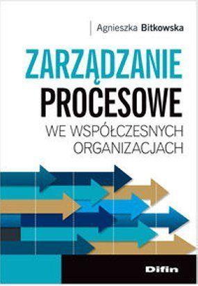 Bitkowska A. A.: Zarządzanie procesowe we współczesnych organizacjach. - Warszawa : Difin, 2013. Sygn.: HD36 .B58 2013