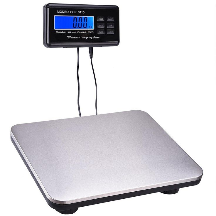 660 lbs Postal Shipping Postage Digital Weight Scale Platform