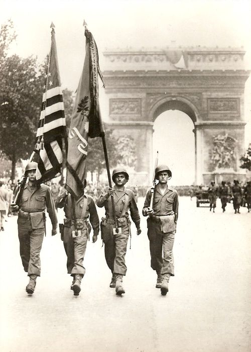 The Victory Parade in Paris, 29 August 1944 World War II