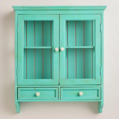 aqua maggie wall cabinet