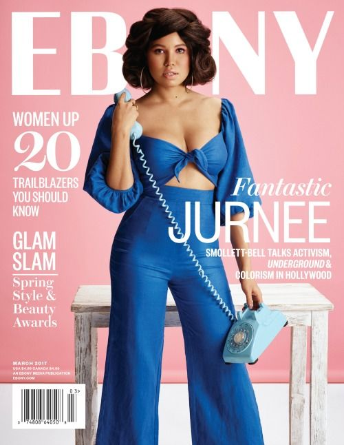 In the March issue of Ebony, actress Jurnee Smollett-Bell talks activism and colorism. Check out Madamenoire.