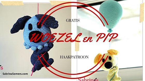 Woezel & Pip gratis haakpatroon