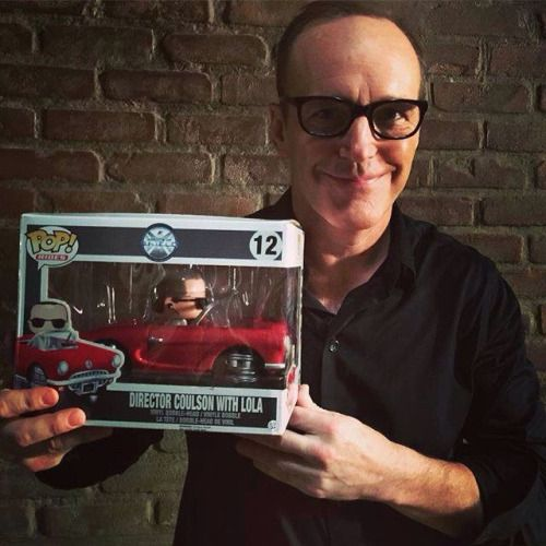 Clark Gregg Director Coulson Agents of S.H.I.E.L.D. Shares his FUNKO POP! With Us