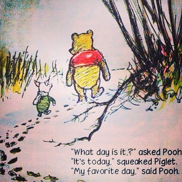 Winnie the Pooh quote - life is never so bad that a Winnie the Pooh quote can't lift your spirits!