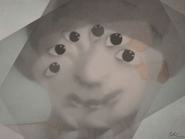 "Saatchi Online Artist Riccardo Schiavon; Digital, ""New frontiers 09"" #art"