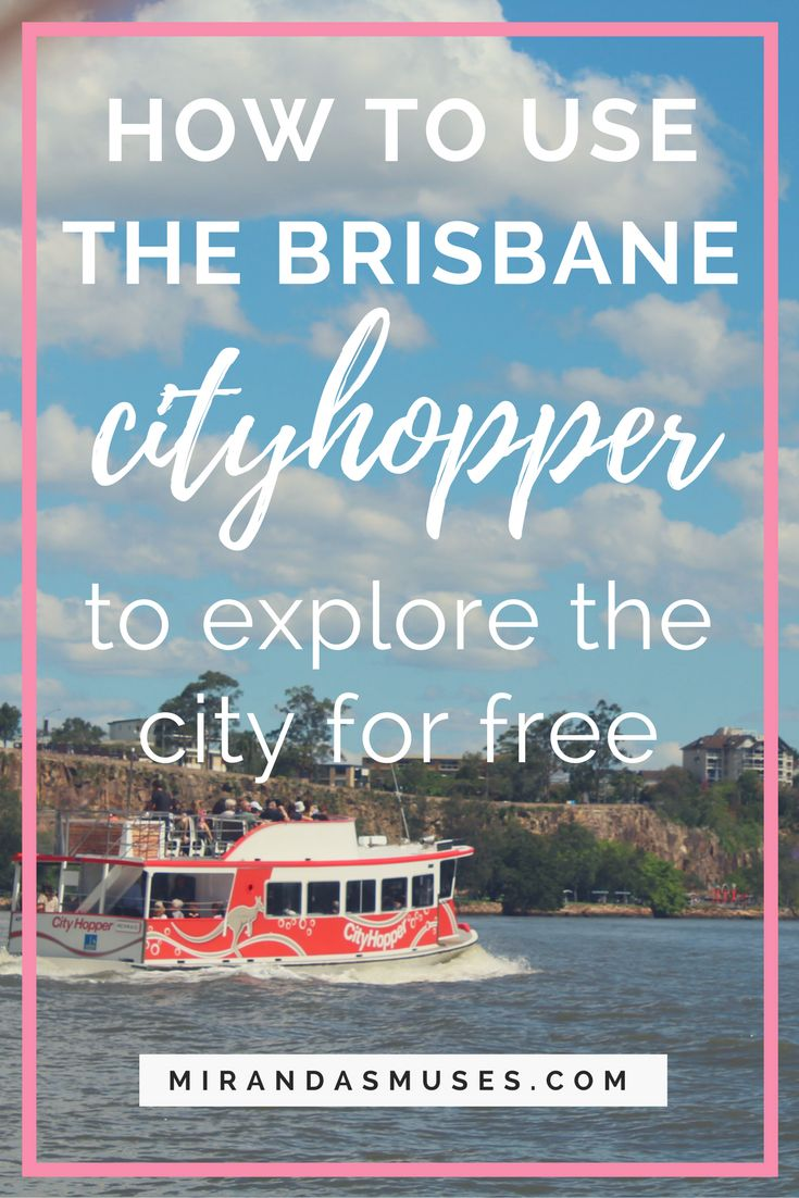 Brisbane CityHopper: How to Explore the City for Free