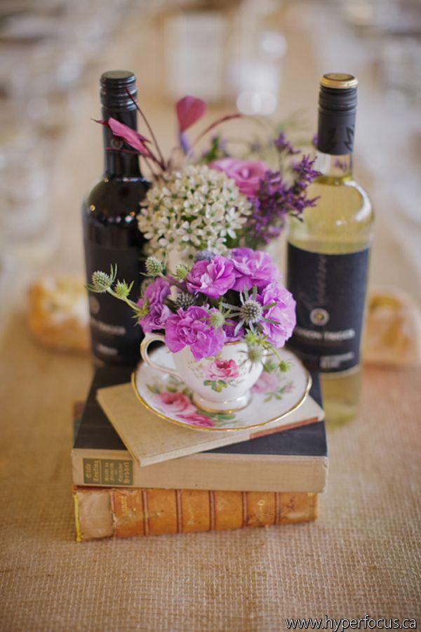 Vintage winery wedding.
