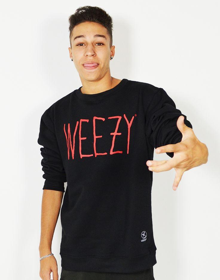 Sudadera básica de cuello redondo #Weezy Compra online #sudaderas y la mejor moda #swag para chico y chica de España a los mejores precios. #moda  #swaggers #tiendaonline #fashion #camisetas