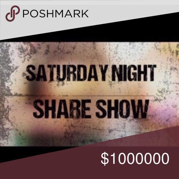 ❌❌CLOSED❌❌11/11 SATURDAY NIGHT SHARE SHOW Welcome to our share group! Your closet must be Posh compliant to join! Please use Q&A for all comments and questions Sign up closes 8pm (EST) Sharing begins after group closes at 8pm. (No early sharing) Share 3 available listings from each closet  Sign up by tagging your own name   (Ex: @_back2basics_) Please SIGN OUT when done, AFTER sign up sheet is closed Please complete all shares by 2am your  time! Other