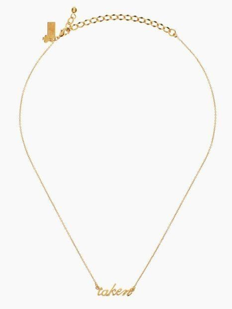 the taken necklace by kate spade new york (february 2014)