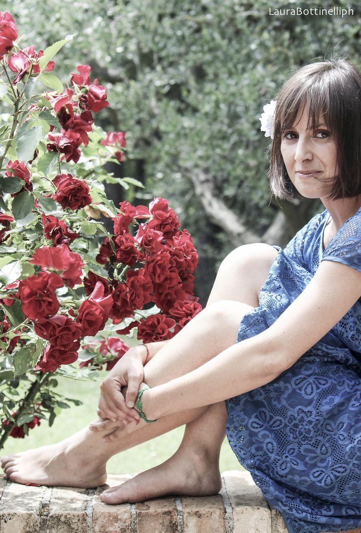 Vestito GigliolaStyle tinto con colori naturali a La Campana (incontro fotografico Gianlu&Lau2015) - Natural dyed dress