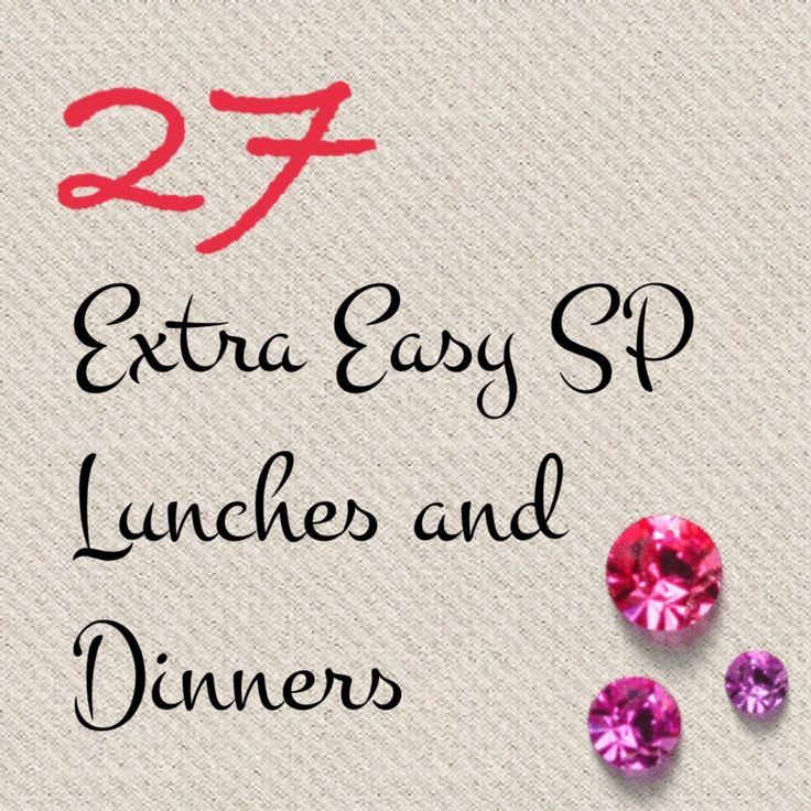 As July approaches, many will have indulged on a holiday, and many will  have holidays approaching. So -having a few SP meals here and there can  really accelerate your losses and get you back on track (or even into that  bikini you are dreaming of wearing!)  With that said, as always it can be extremely tough to come up with ideas  when there are only very specific foods you can eat.to help you along,  we've dug up 27 ideas for you all! Catch them below.   * Beef Stir Fry - beef…