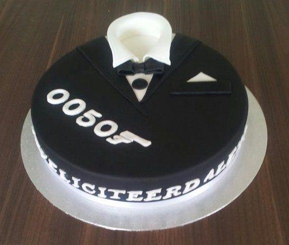 taart smoking James Bond