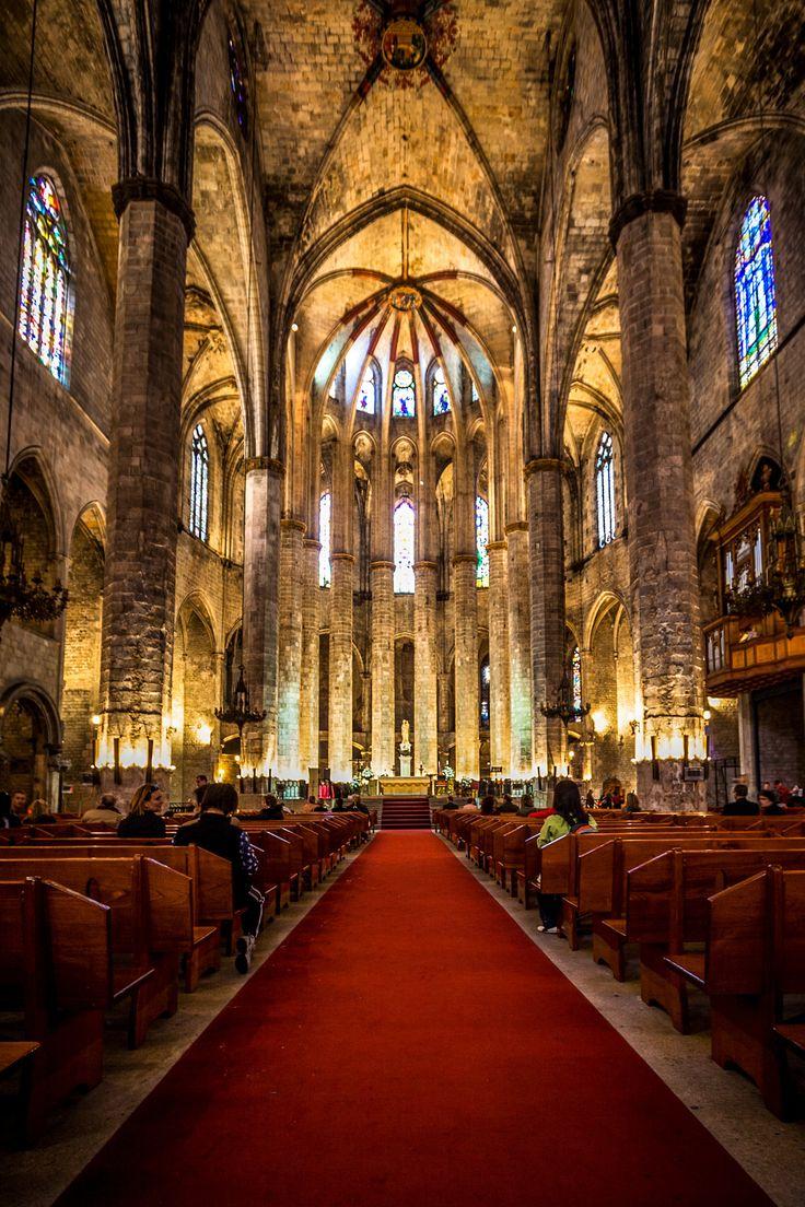 Barcelona Santa Maria del Mar by Andrzej Koliba on 500px