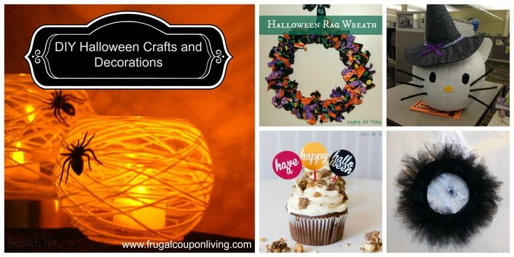 531 best Boo! ~~ Witch Crafts  Decor images on Pinterest - halloween crafts decorations