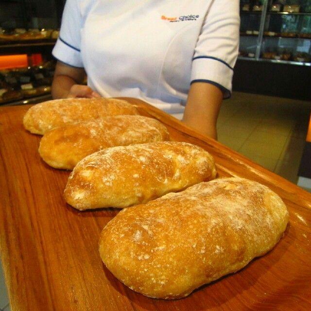 Cheese Ciabatta by Bread Choice Bakery (Instagram: @breadchoicebakery)