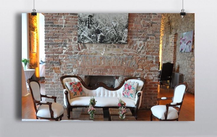 This is one of our favorite pieces due to its versatility. It has been used in a number of different ways such as a love seat at a wedding,  a prop in a fashion shoot & as furniture in both modern & boho chic themes.  Can be hired as part of a set or separately. http://www.prophouse.ie/portfolio/mahogany-white-leather-love-seat-matching-chairs/