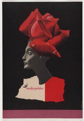MOMA - Moda Polska (Polish Fashion)  Roman Cieslewicz (French, born Poland. 1930-1996)