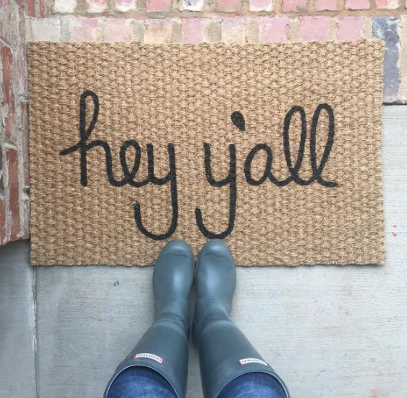 "Always shortening ""you all"" to ""y'all."" 