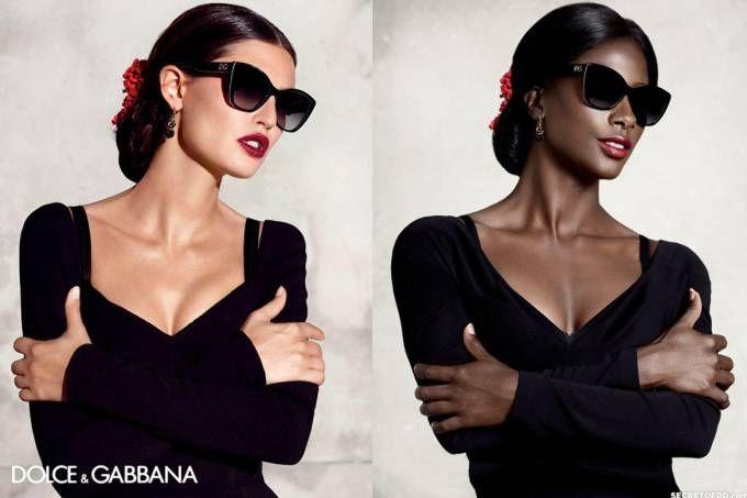 Modelo recria ads famosos para questionar a falta de mulheres negras na moda