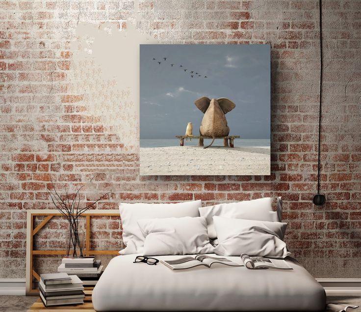 Van dit prachtige schilderij Just Sitting krijg je direct een grote glimlach op je gezicht! Geweldig mooi toch? Ben je een liefhebber van dieren, en kun je heerlijk wegdromen van dit mooie schilderij? Wij zeker, en daarom zijn we blij om dit mooie item toe te mogen voegen aan onze collectie.
