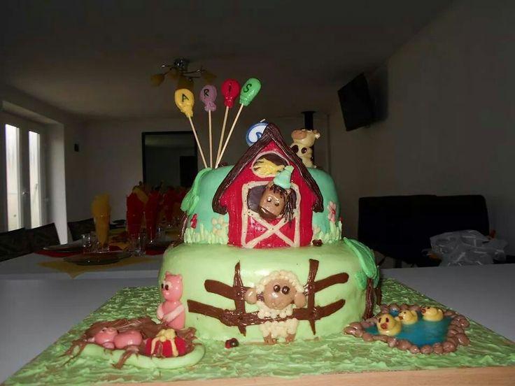 First farm cake