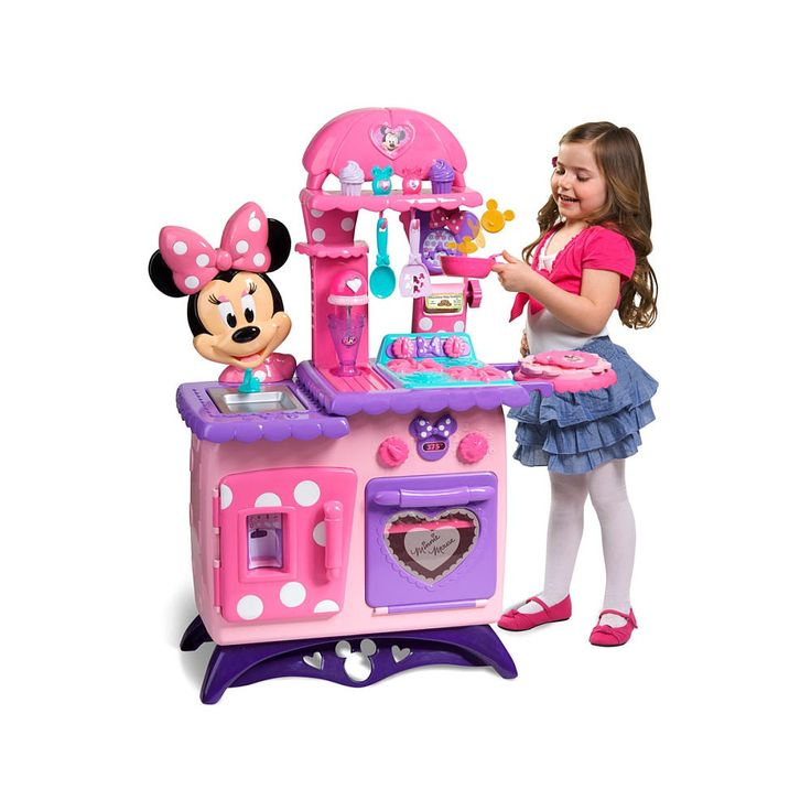Just Play Toys : Minnie mouse bow tique flippin fun kitchen just play