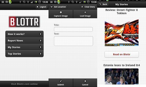 Blottr – plataforma de periodismo ciudadano, lanza su aplicación para Android
