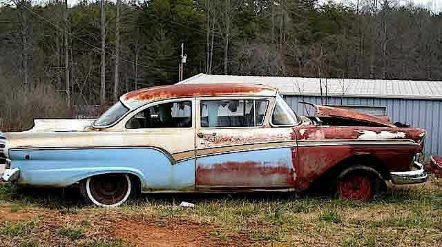 Are you tired of seeing that old junk heap of a dead vehicle lying about like a beached whale outside on the front yard? It needs to go...