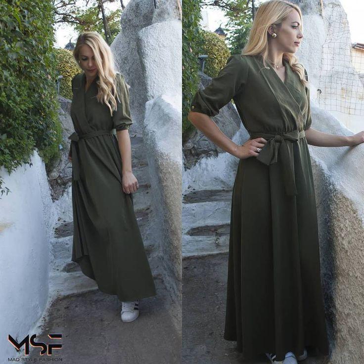 •Maxi dress, is the most elegant solution• Βρες το φόρεμα (τιμή 27€) εδώ: http://bit.ly/2lW53G7 ☎Τηλεφωνικές Παραγγελίες: 2104965329