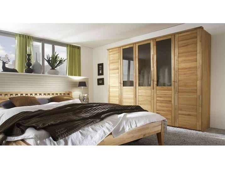 Echtholz Kleiderschrank Luba Kernbuche Natur Schrank Home Decor Home Furniture