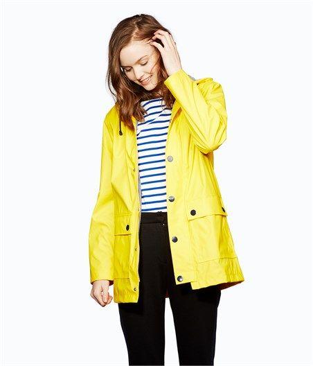 Women's water-repellent raincoat
