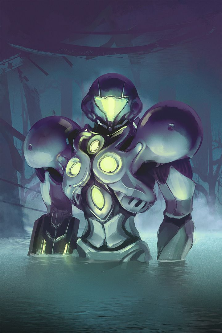 Metroid Prime 2 - Light Suit (with Time Lapse) by Razputin93 on deviantART